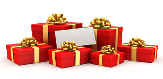 Several gifts Stock Photography