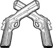 Several gun Royalty Free Stock Photography