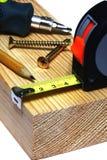 Several hand tools Stock Photo