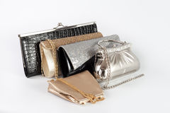 Several handbags Stock Photos