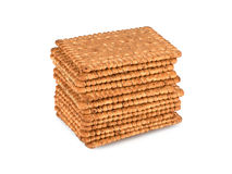 Several hard biscuits Royalty Free Stock Photo