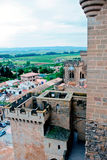 Several images of Olite, Navarra, Spain Stock Photography