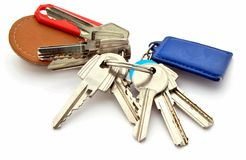 Several keys Royalty Free Stock Images