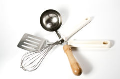 Several kitchen utensils Stock Photography