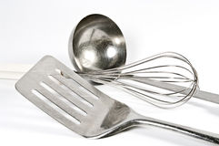Several kitchen utensils Royalty Free Stock Image