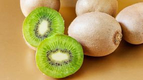 Several kiwi fruit Royalty Free Stock Image
