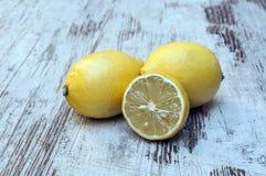 Several lemons Stock Images