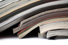Several magazines Stock Photography