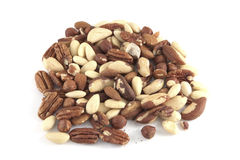 Several nuts Royalty Free Stock Images