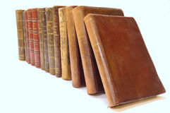 Several old books Royalty Free Stock Photo