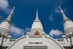 The several pagoda in Thailand Royalty Free Stock Images