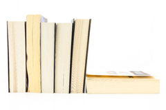 Several paper books Stock Photography