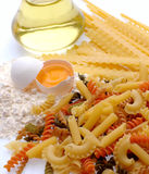 Several pasta Royalty Free Stock Photography