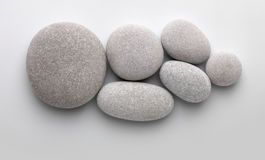 Several pebbles together Royalty Free Stock Photography