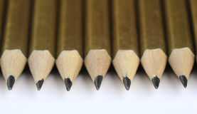 Several pencils Royalty Free Stock Photos