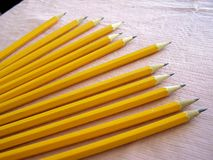 Several pencils Royalty Free Stock Image