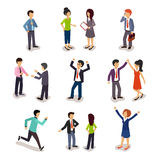 Several People Isometric, Vector Stock Photo