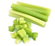 Several pieces of celery Stock Image