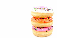 Several pieces donuts Stock Photo