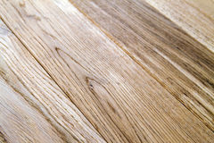 Several planks of beautiful laminate or parquet flooring with wooden texture as background stock photography
