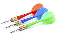 Plastic darts Royalty Free Stock Photo