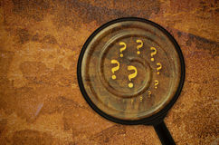 Several question marks Royalty Free Stock Image