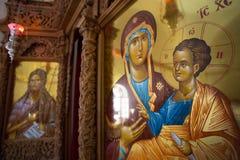 Several religieus icons. Royalty Free Stock Image