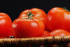 Several ripe tomatoes Stock Photo