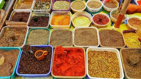 Banking with seasonings. royalty free stock photography