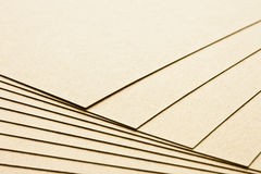 Several sheets of paper. Several nicely spread out sheets of paper Royalty Free Stock Photos