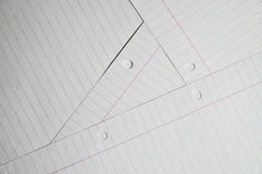 Several sheets of writing paper Royalty Free Stock Photos