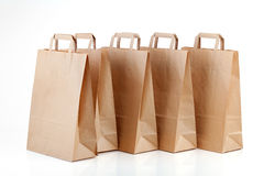 Several shopping bags. Royalty Free Stock Images