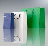 Several shopping bags. Royalty Free Stock Image