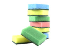 Several sponges Stock Images