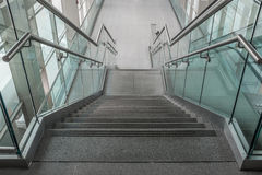 Several steps of granite stairs Royalty Free Stock Photography