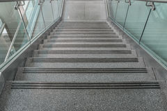Several steps of granite stairs Royalty Free Stock Images