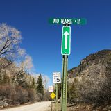 Several street signs. Royalty Free Stock Photography