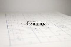 Several Sudoku Games Stock Photo