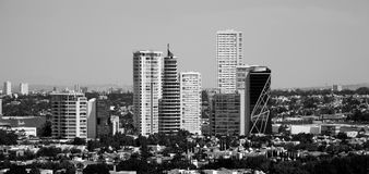 Several tall buildings Royalty Free Stock Photography