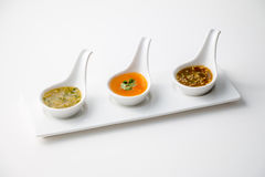 Several Thai style sauce Stock Photography