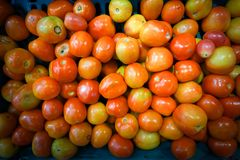 Several tomatoes are sold Royalty Free Stock Images