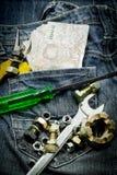 Several tools Stock Photo
