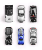 Several toy cars Stock Photos