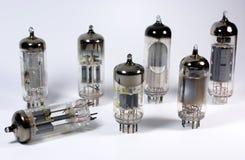 Several Vacuum Tubes Stock Photo