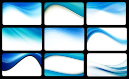 Several waves Royalty Free Stock Photography
