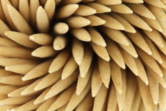 Several wooden toothpicks background Royalty Free Stock Photos