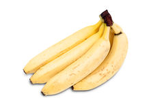 Several yellow bananas Stock Photography