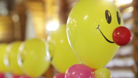 Severals balloons stock video footage