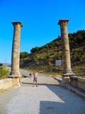 Severan Bridge in Turkey. royalty free stock photo