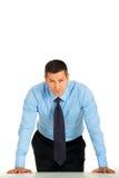 Severe businessman Royalty Free Stock Image